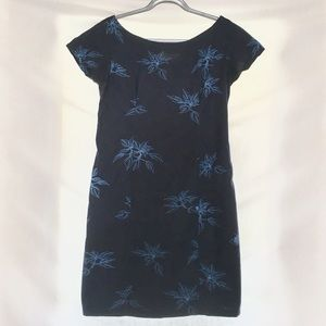 Dark navy Sig Zane dress